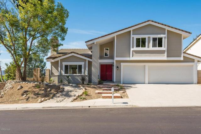 1696 Shadow Oaks Place, Thousand Oaks, CA 91362 (#218012307) :: Fred Howard Real Estate Team