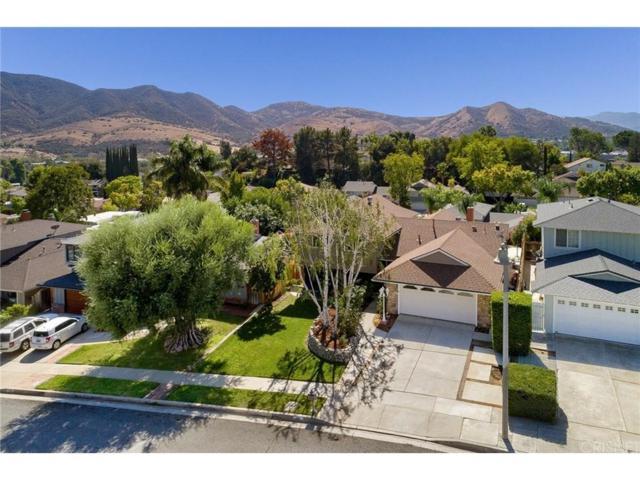 5551 Rainbow Crest Drive, Agoura Hills, CA 91301 (#SR18246504) :: Golden Palm Properties