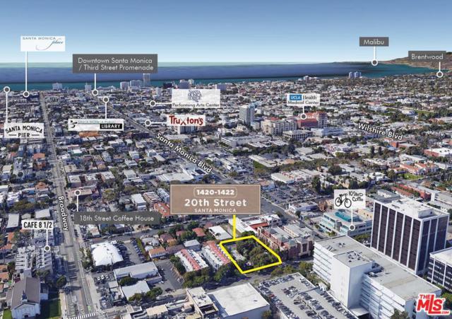 1422 20TH Street, Santa Monica, CA 90404 (#18396104) :: Golden Palm Properties