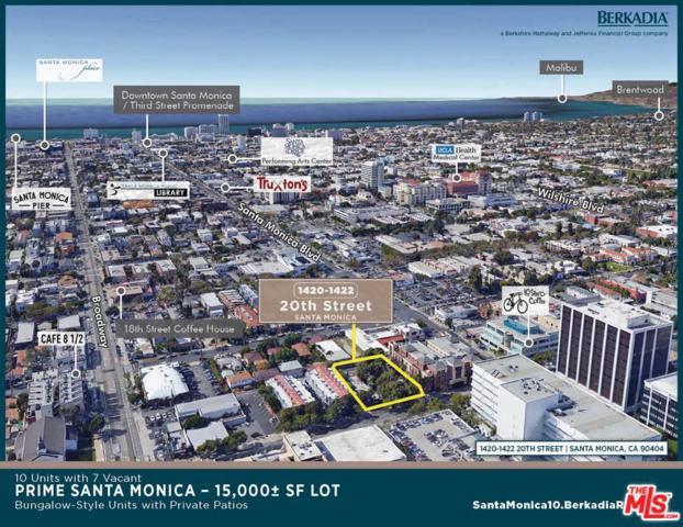 1420 20TH Street, Santa Monica, CA 90404 (#18396084) :: Golden Palm Properties