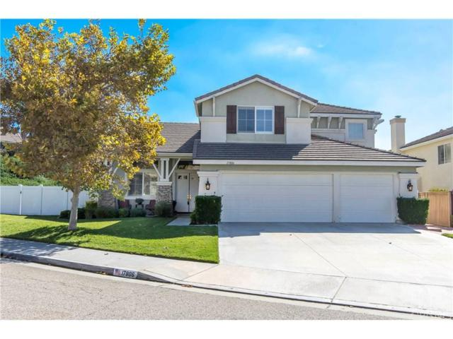 17806 Timber Branch Place, Canyon Country, CA 91387 (#SR18246393) :: Carie Heber Realty Group
