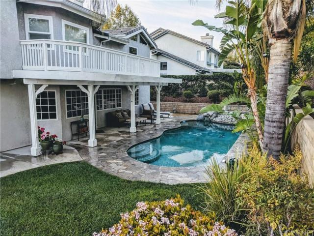 27030 Littlefield Drive, Valencia, CA 91354 (#SR18249444) :: Carie Heber Realty Group