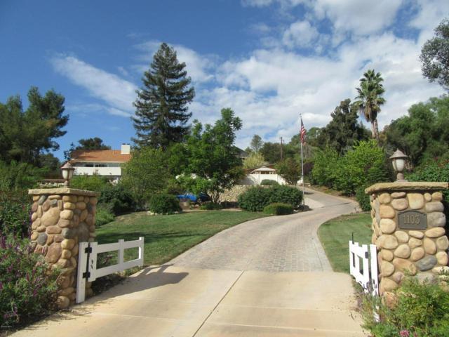 1103 N Montgomery Street, Ojai, CA 93023 (#218012982) :: Golden Palm Properties