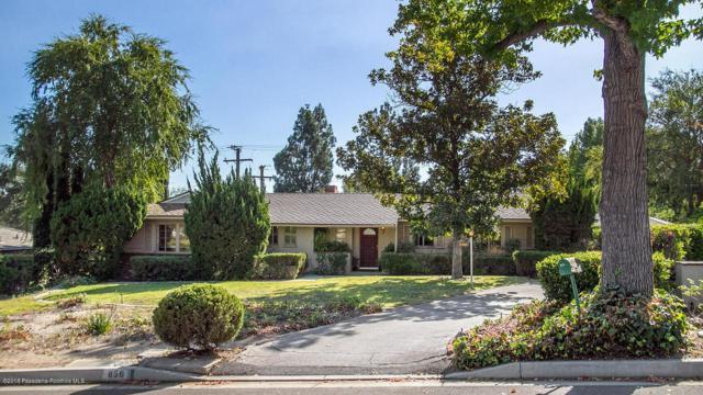 856 Lynnhaven Lane, La Canada Flintridge, CA 91011 (#818005067) :: Golden Palm Properties
