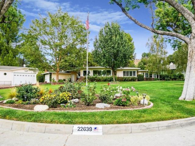 22639 Arriba Drive, Saugus, CA 91350 (#SR18250276) :: Carie Heber Realty Group