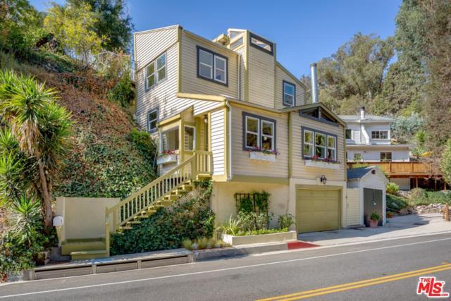 1523 N Beverly Glen, Los Angeles (City), CA 90077 (#18395516) :: PLG Estates