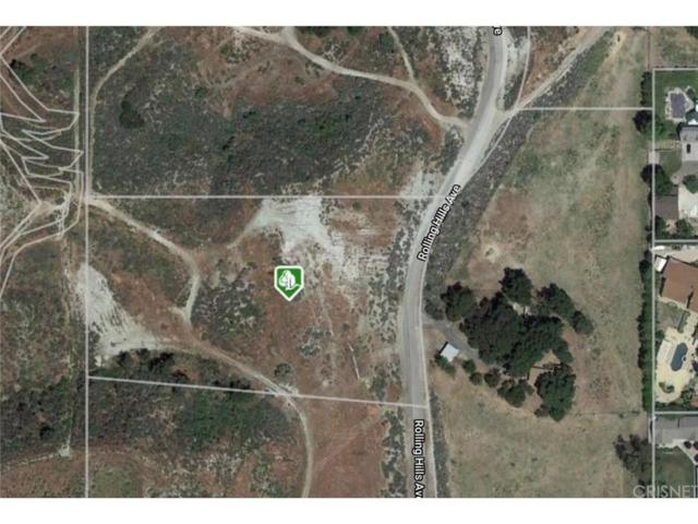 0 Rolling Hills, Canyon Country, CA  (#SR18255348) :: Paris and Connor MacIvor
