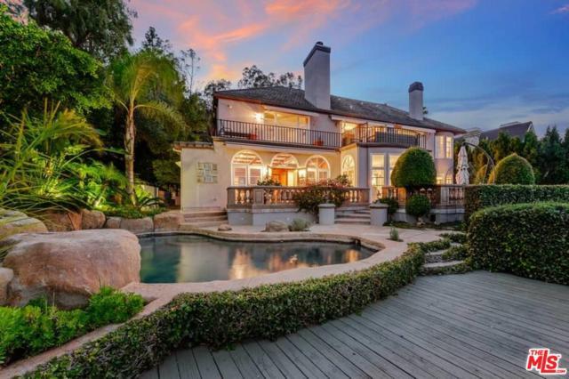 12066 Summit Circle, Beverly Hills, CA 90210 (#18399736) :: Paris and Connor MacIvor