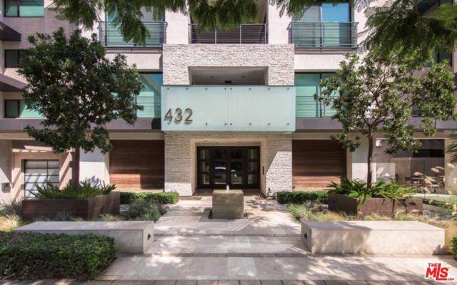 432 N Oakhurst Drive #406, Beverly Hills, CA 90210 (#18407306) :: The Fineman Suarez Team