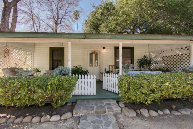 211 Fox Street, Ojai, CA 93023 (#218014133) :: Golden Palm Properties