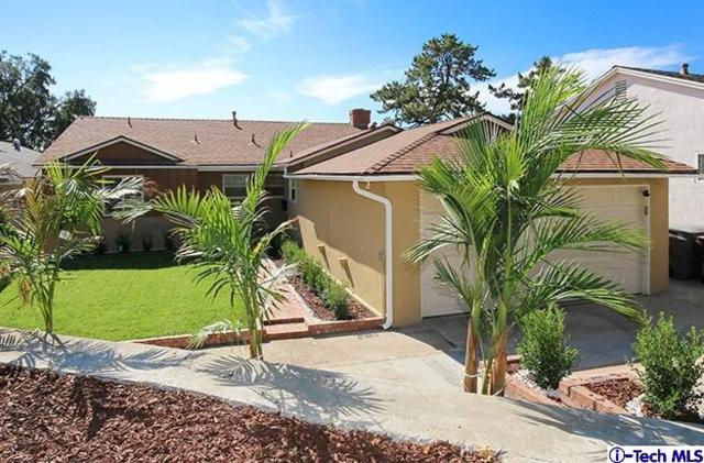 3704 El Moreno Street, Glendale, CA 91214 (#318004683) :: The Real Estate Offices of Talbot and Watson
