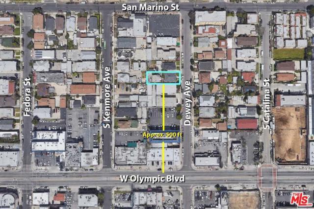 965 Dewey Avenue, Los Angeles (City), CA 90006 (#18409006) :: Golden Palm Properties