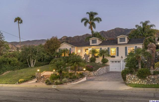 610 S Sunset Canyon Drive, Burbank, CA 91501 (#318004838) :: Fred Howard Real Estate Team