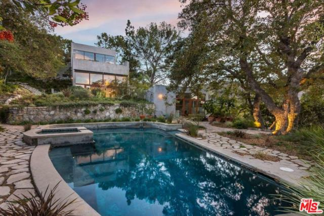 3201 Coldwater Canyon Lane, Beverly Hills, CA 90210 (#18413516) :: The Fineman Suarez Team