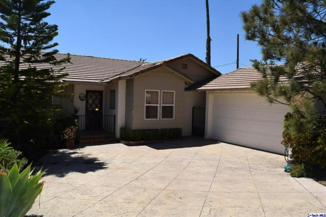 3836 Los Olivos Lane, Glendale, CA 91214 (#318004900) :: The Real Estate Offices of Talbot and Watson
