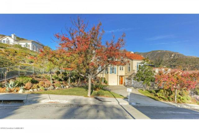 3831 Sky View Lane, Glendale, CA 91214 (#818005810) :: Golden Palm Properties