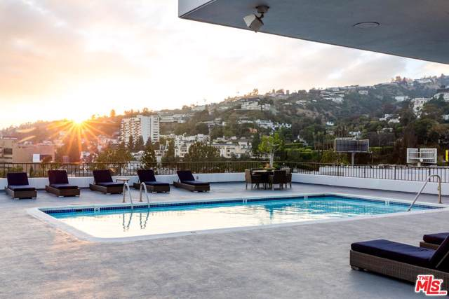 1100 Alta Loma Road #1702, West Hollywood, CA 90069 (#19520308) :: Golden Palm Properties