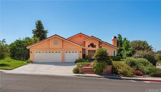 17864 Tuscan Drive, Granada Hills, CA 91344 (#SR19245927) :: The Fineman Suarez Team