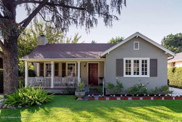 865 N Holliston Avenue, Pasadena, CA 91104 (#819004834) :: Golden Palm Properties