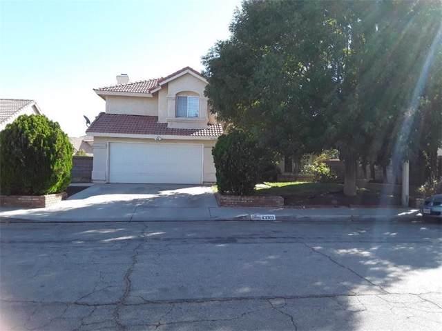 43302 8TH Street E, Lancaster, CA 93535 (#SR19247099) :: Golden Palm Properties