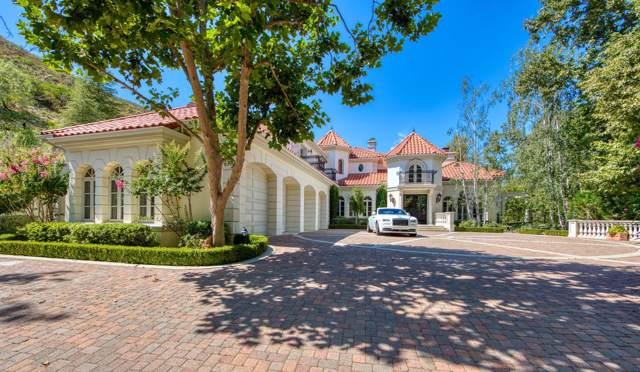 677 Lakeview Canyon Road, Westlake Village, CA 91362 (#219013278) :: SG Associates