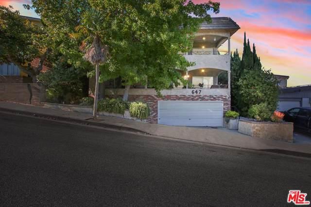 647 Hill Street, Santa Monica, CA 90405 (#19527048) :: Pacific Playa Realty