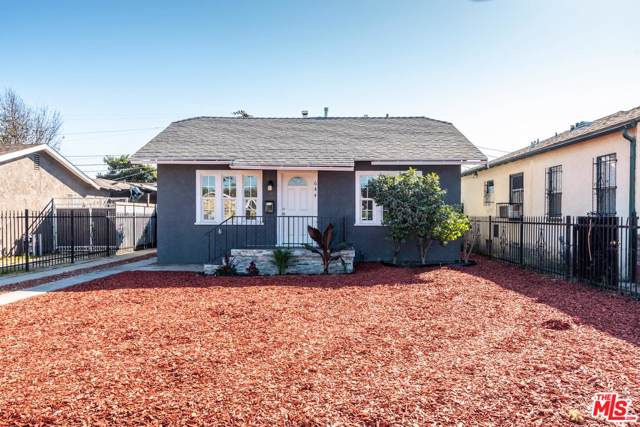 644 W 107TH Street, Los Angeles (City), CA 90044 (#19527728) :: Pacific Playa Realty