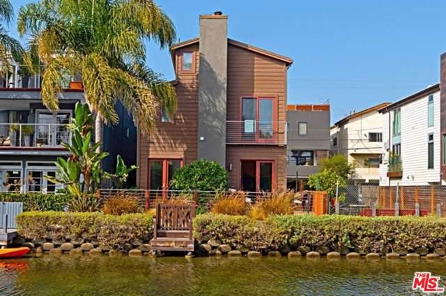 419 Carroll Canal, Venice, CA 90291 (#19528714) :: Pacific Playa Realty
