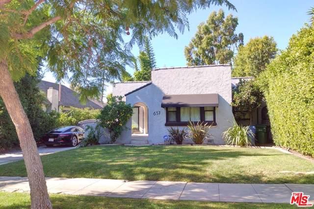 657 Lillian Way, Los Angeles (City), CA 90004 (#19527498) :: The Agency