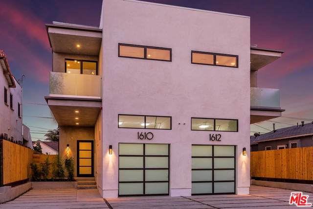 1610 S Wooster Street, Los Angeles (City), CA 90035 (#19529602) :: The Agency