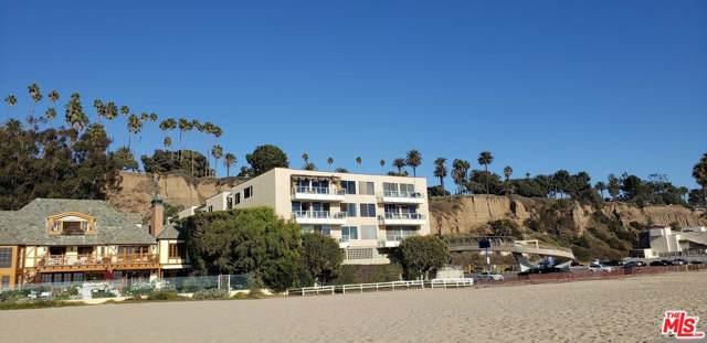 723 Palisades Beach Road #217, Santa Monica, CA 90402 (#19529556) :: Pacific Playa Realty