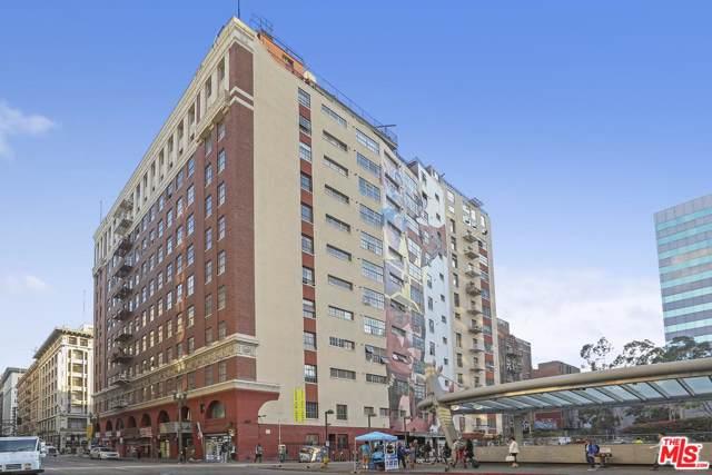 312 W 5TH Street #1104, Los Angeles (City), CA 90013 (#19530066) :: The Agency