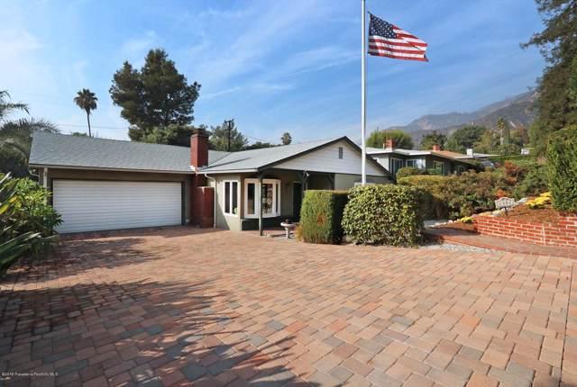 1302 E Loma Alta Drive, Altadena, CA 91001 (#819005224) :: The Parsons Team