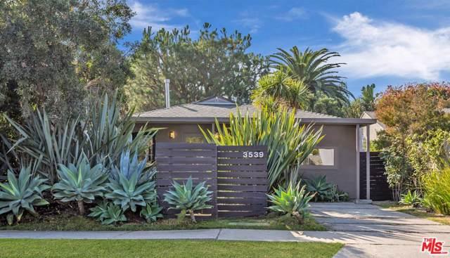 3539 Greenwood Avenue, Los Angeles (City), CA 90066 (#19529488) :: The Fineman Suarez Team