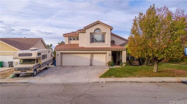 1829 Dawnridge Court, Palmdale, CA 93551 (#SR19269280) :: Randy Plaice and Associates