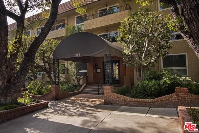 1203 N Sweetzer Avenue #304, West Hollywood, CA 90069 (#19531888) :: TruLine Realty