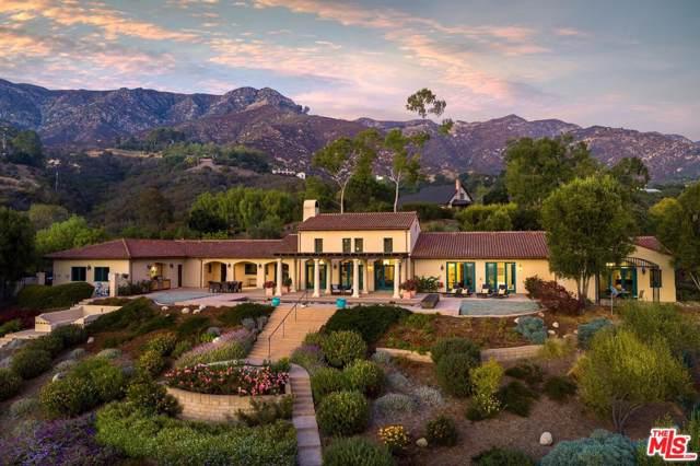 2896 Hidden Valley Ln, Montecito, CA 93108 (MLS #19-533010) :: The John Jay Group - Bennion Deville Homes