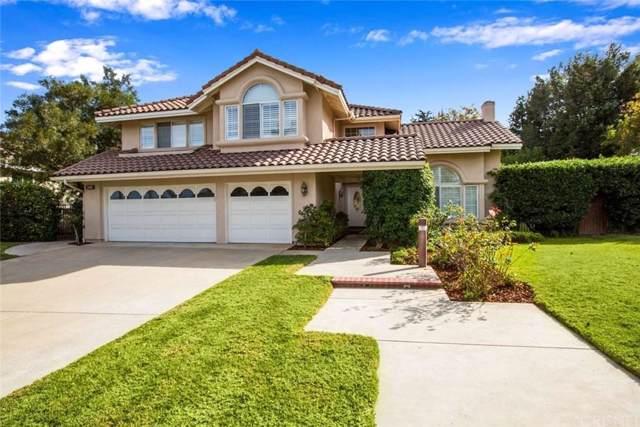 2100 Bennington Court, Thousand Oaks, CA 91360 (#SR19274029) :: Golden Palm Properties