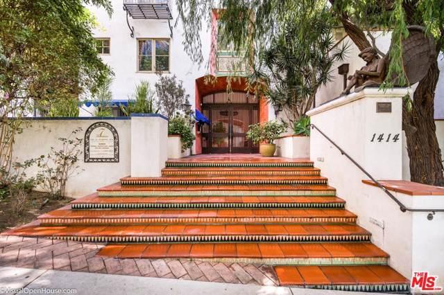 1414 N Harper Avenue #8, West Hollywood, CA 90046 (#19528534) :: The Agency