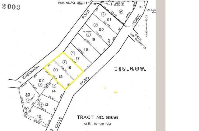 0 Vac/Pozo Verde/Ensenada Road D, Green Valley, CA 91350 (#SR20004130) :: The Pratt Group