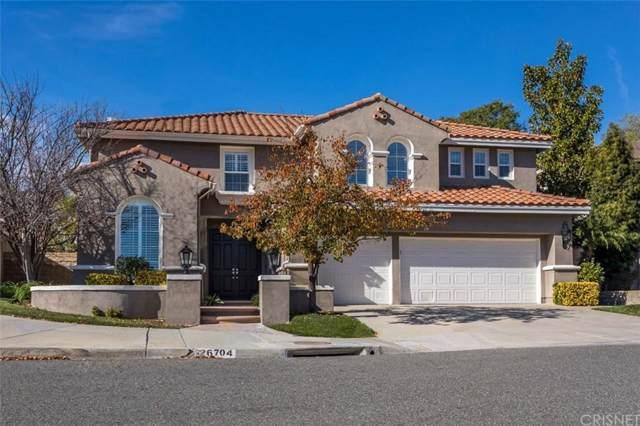 26704 Wyatt Lane, Stevenson Ranch, CA 91381 (#SR20005429) :: Randy Plaice and Associates