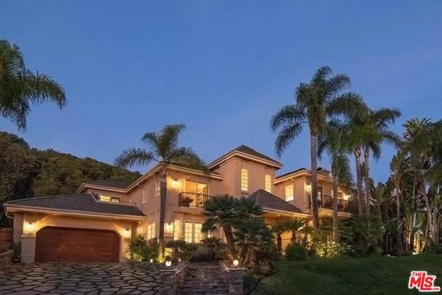 16301 Shadow Mountain Drive, Pacific Palisades, CA 90272 (#20542476) :: Pacific Playa Realty