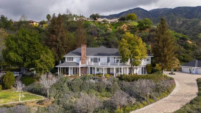 427 Long Canyon Road, Bradbury, CA 91008 (#820000141) :: The Parsons Team