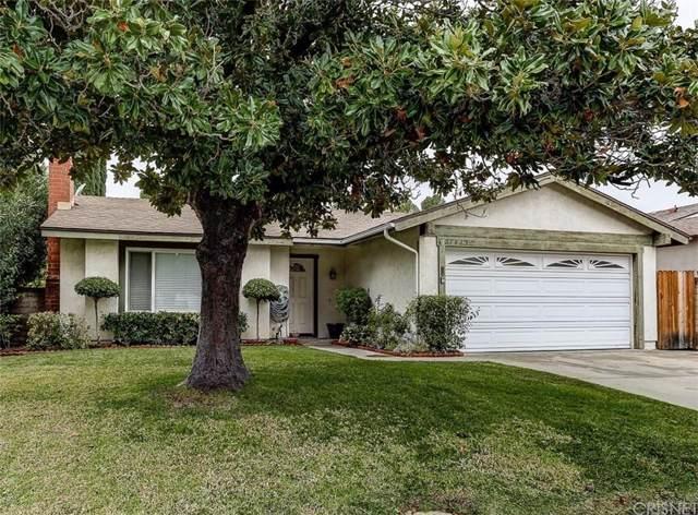 27435 Cherry Creek Drive, Valencia, CA 91354 (#SR20007478) :: The Suarez Team