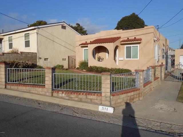 511 N 10TH Street, Santa Paula, CA 93060 (#220000455) :: The Agency