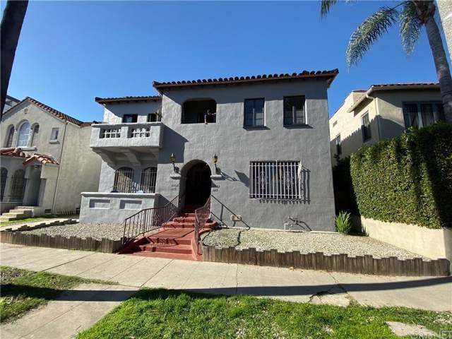 425 N Curson Avenue, Los Angeles (City), CA 90036 (#SR20009051) :: Randy Plaice and Associates