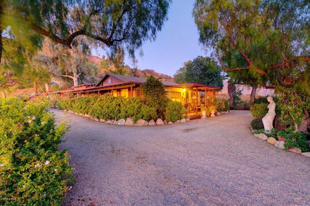 1203 N Signal Street, Ojai, CA 93023 (#220000505) :: The Pratt Group