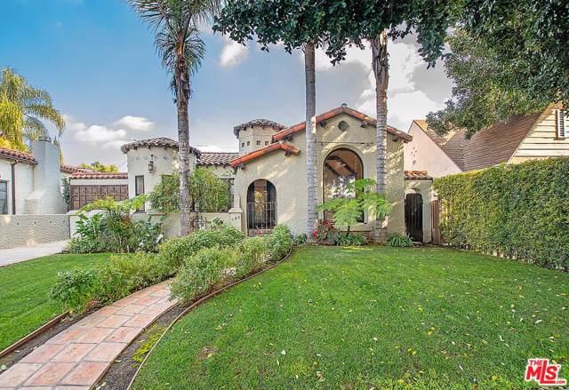 356 N Sweetzer Avenue, Los Angeles (City), CA 90048 (#20544154) :: Randy Plaice and Associates