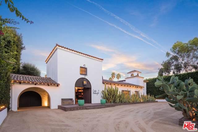 820 N Roxbury Drive, Beverly Hills, CA 90210 (#20544790) :: Pacific Playa Realty