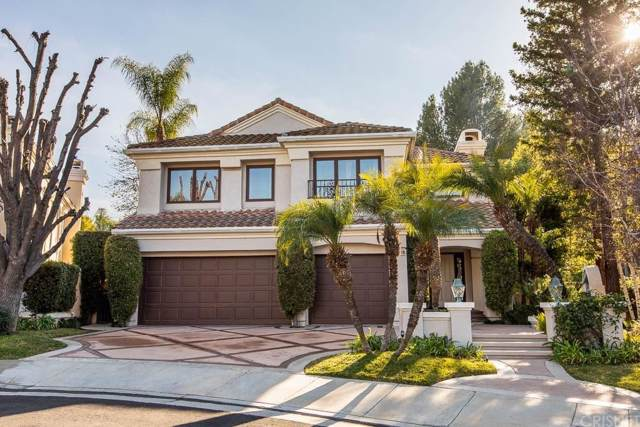 4353 Park Blu, Calabasas, CA 91302 (#SR20009750) :: Lydia Gable Realty Group